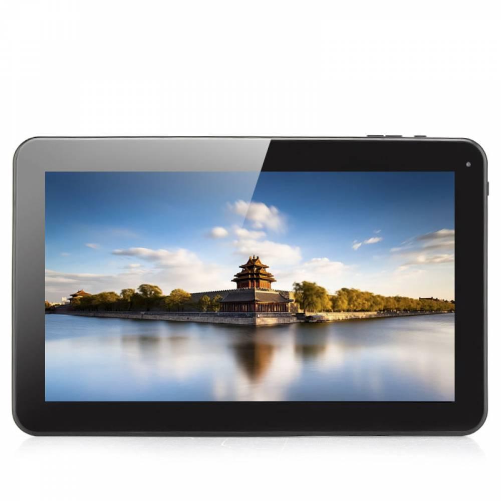 "Таблет Allwinner A33 Черен четириядрен процесор  10"", Multi-Touch, 1GB RAM, 8GB, Wi-Fi, Bluetooth"