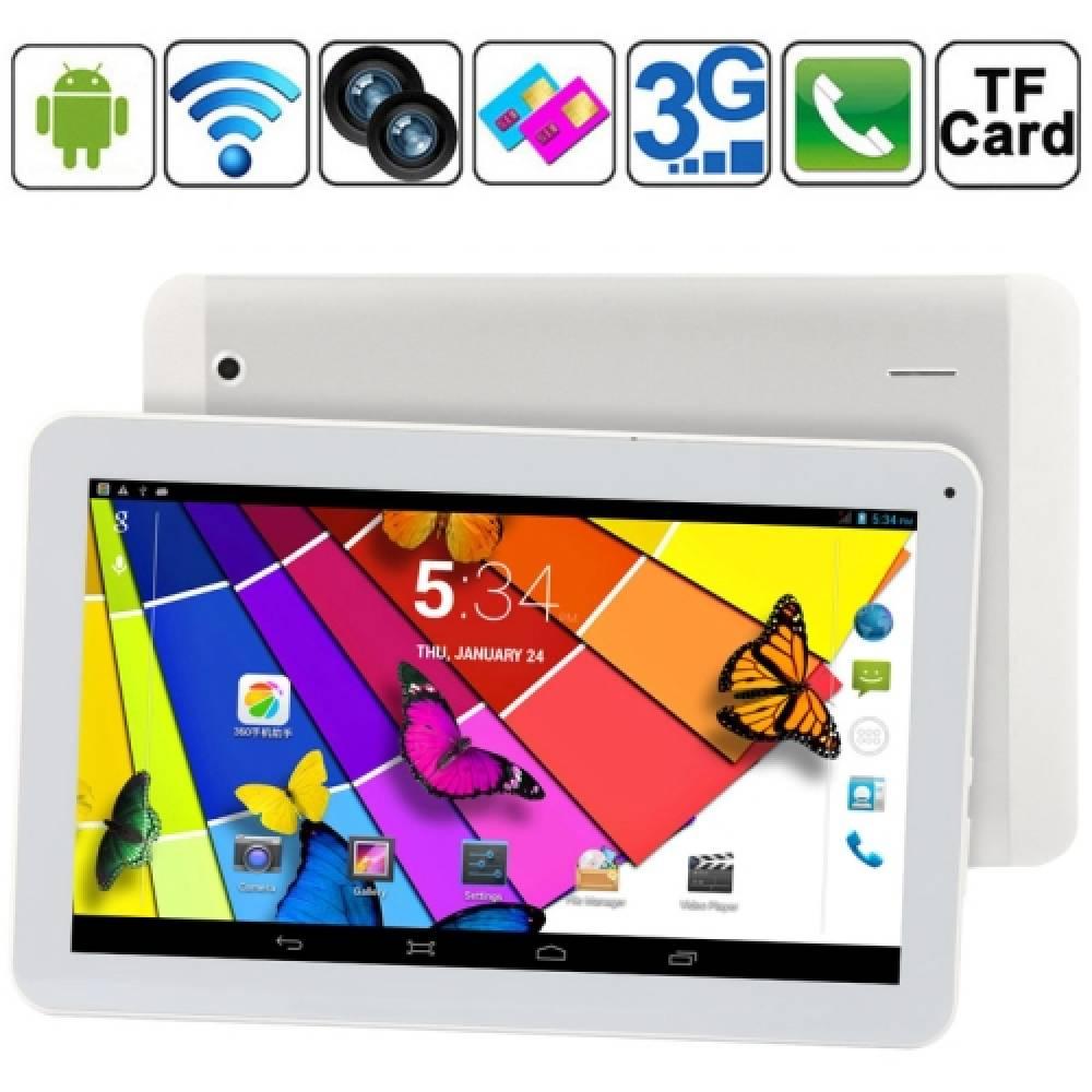 НОВО! Четириядрен таблет 10 инча 3G MR1002 2SIM GPS МТК8382(MTK8382-10) в tabletstorebg
