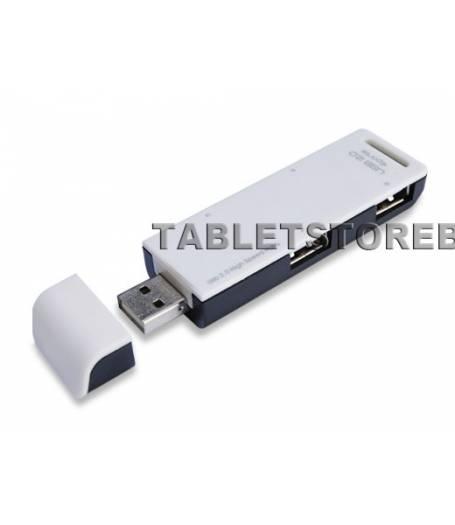4 портов USB хъб с интерфейс USB 2.0(4CH) в tabletstorebg