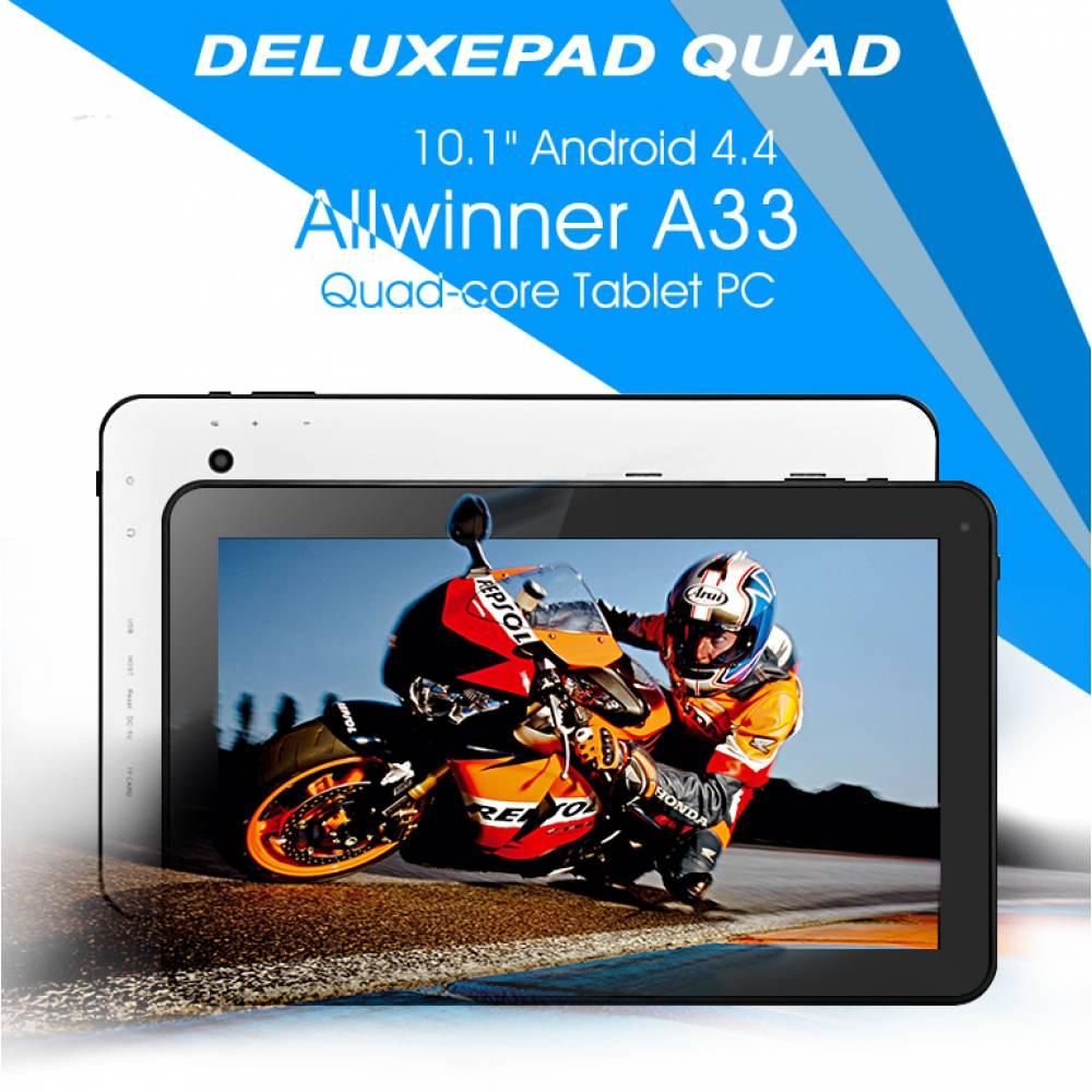 Четириядрен таблет Deluxepad QUAD A33 1GB RAM BG(4core-A31s10) в tabletstorebg