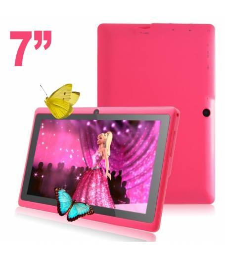 Розов Allwinner A33 Четириядрен Таблет 7 инча 1.5GHZ KIT KAT(RK3026-7p) в tabletstorebg