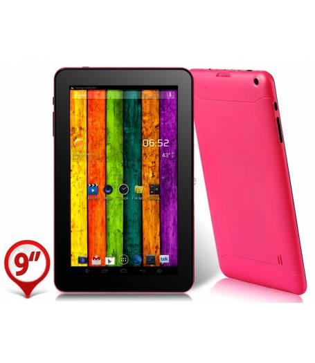 Розов двуядрен Таблет DELUXEPAD DUO 9 инча 2 камери Android 4.2 1.3GHZ 512 рам(ATM9W) в tabletstorebg
