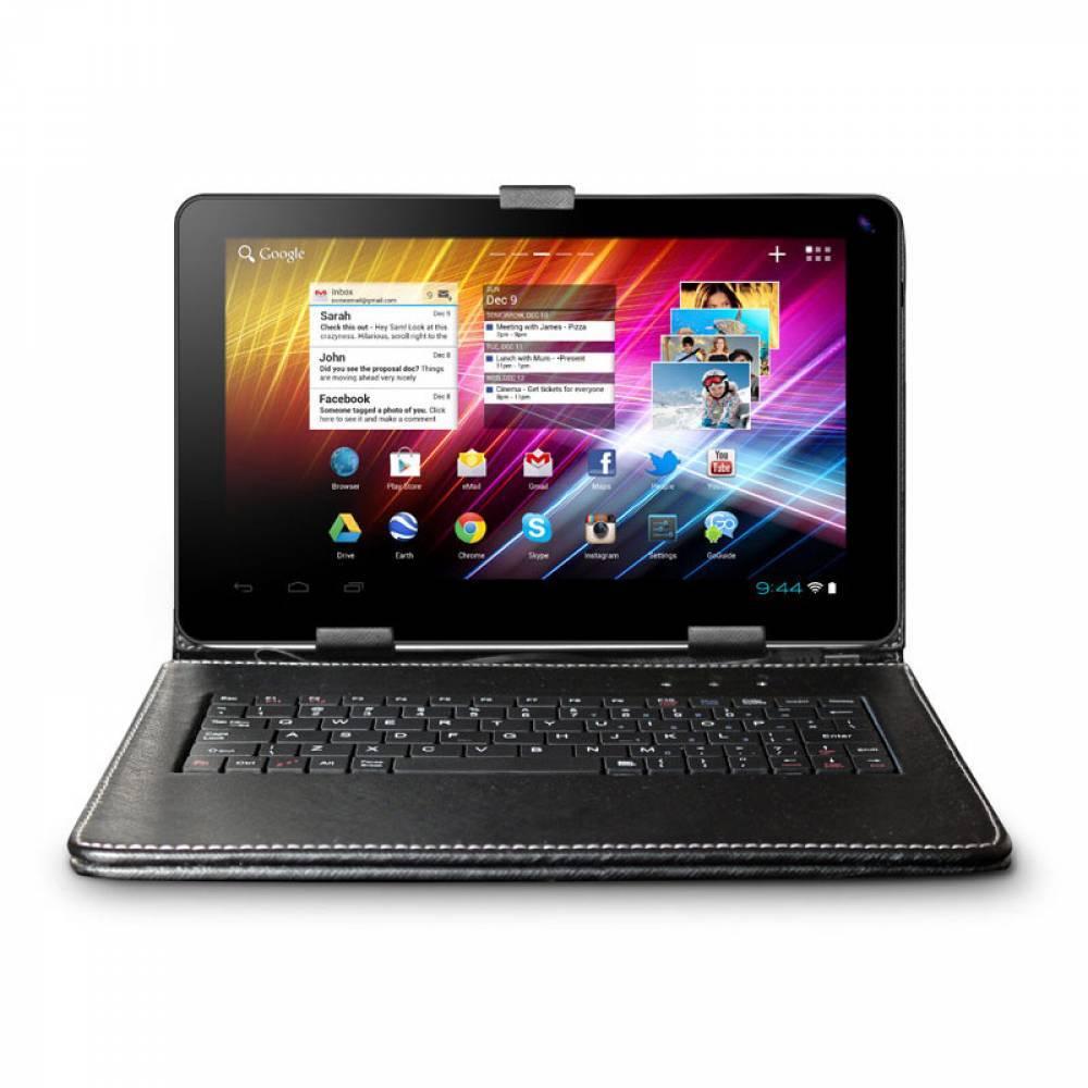 НОВО! Комплект Четириядрен Таблет Allwinner A33 1.3GHZ 9 инча 1024 x 600 1GB RAM 8GB 2 камери Android 4.4 Черен,Клавиатура в tabletstorebg