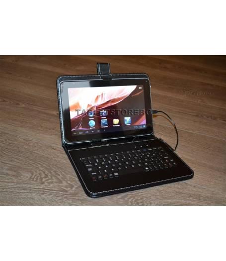 Четириядрен таблет 9 инча 1.3GHZ WIFI BG Android 4.4.2+КЛАВИАТУРА(АТМ9+kb) в tabletstorebg