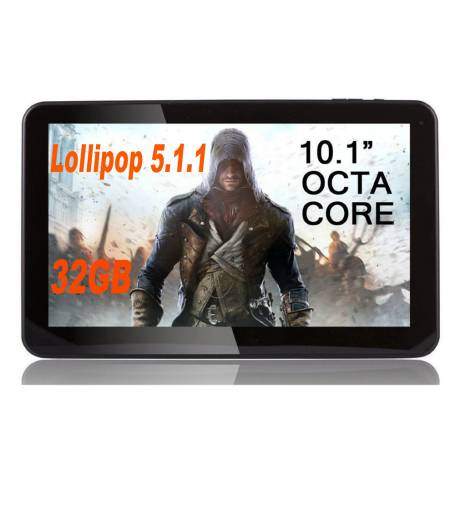 "Таблет Allwinner A83T осем-ядрен процесор (1,8Ghz) 10"", Multi-Touch, 1GB RAM, 32GB, Wi-Fi, Bluetooth, Android 5.1.1 Lollipop"