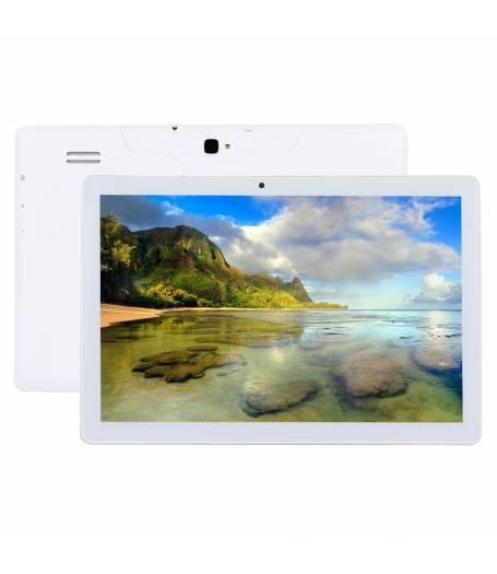 "Бял Таблет Mediatek X10 четири-ядрен процесор (1,3Ghz) 10.1"", 1280х800 IPS, 1GB RAM, 16GB,3G, GPS,  Wi-Fi, Bluetooth, Lollipop 5.1,"
