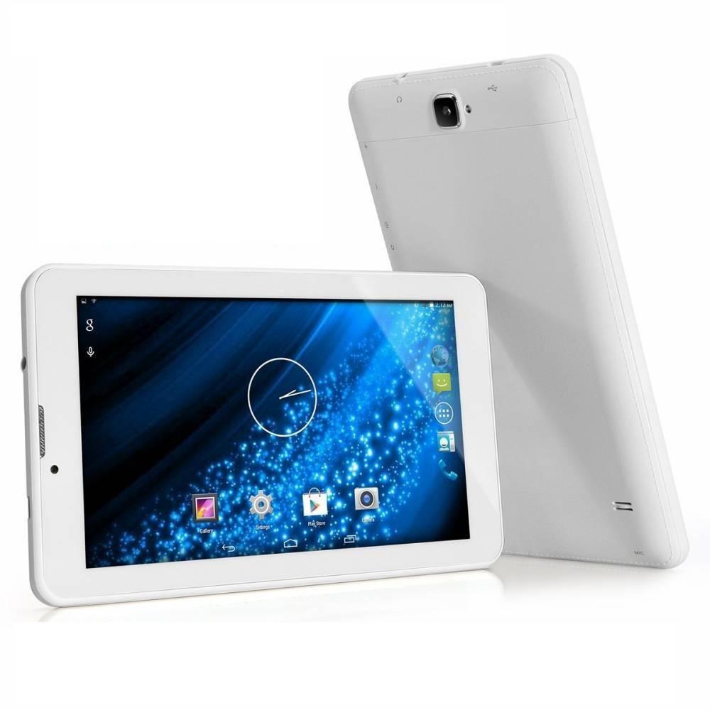 Бял Четириядрен таблет с функция разговори 3G 2SIM Bluetooth BG FM (3G-2SIM) в tabletstorebg