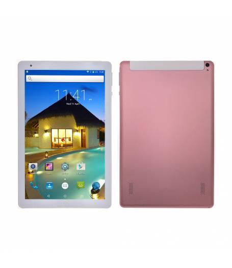 """Комплект Таблет Mediatek K107 четири-ядрен процесор 10.1"""", 1280х800 IPS, 1GB RAM, 16GB,3G, GPS, Wi-Fi, Bluetooth, Nougat 7.0, Розов, Протектор, Писалка"""