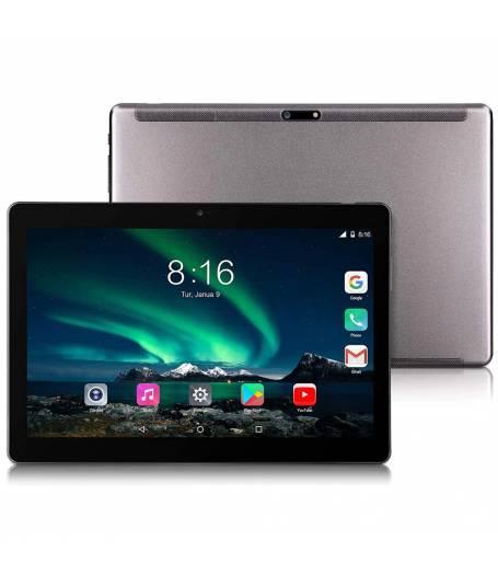 "Таблет KA Digital® X20L десет-ядрен процесор Helio X20 2GB RAM 32GB 4G LTE 10.1"", 1280x800 IPS, GPS, Wi-Fi, Bluetooth, Oreo 8.0, Черен, Протектор, Писалка"