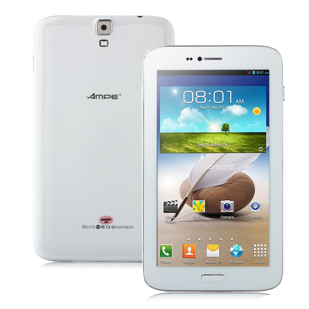 Четириядрен фаблет 3G AMPE 2SIM MTK8382 6.2инча GPS Андроид 4.2 8 GB(A838262) в tabletstorebg