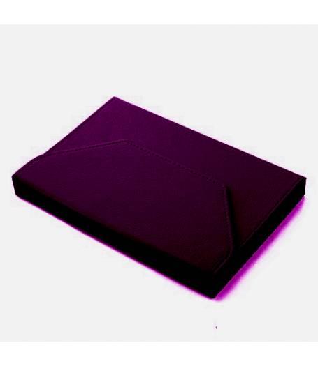 Универсален калъф за таблет 10 инча с ластици-Тъмно Лилав