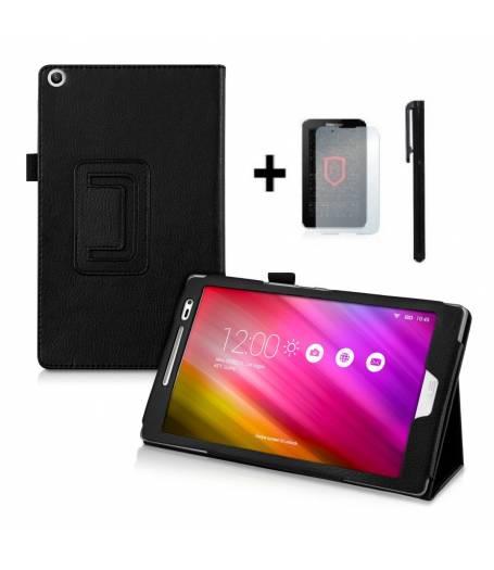 Kалъф за таблет Asus ZenPad Z380C Черен +протектор+писалка 7 инча тип ПАПКА