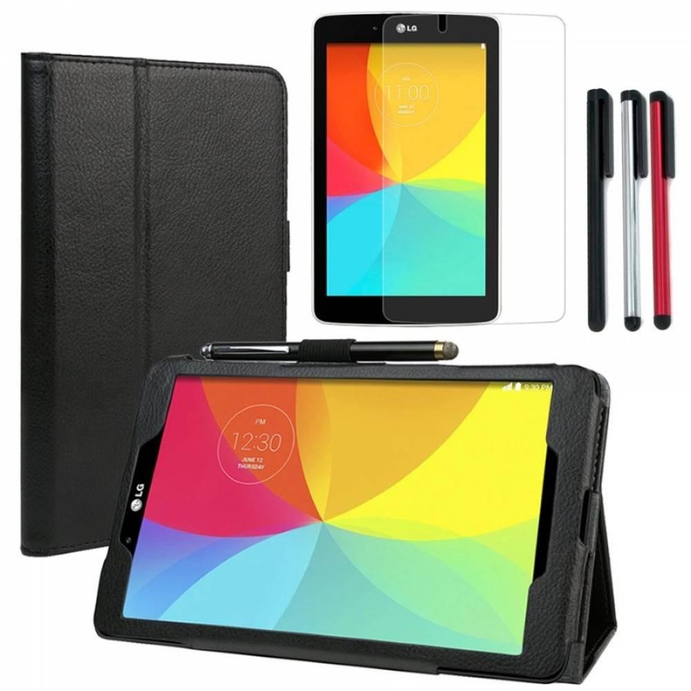 Калъф за таблет LG G Pad 7 инча V400 +Протектор+писалка