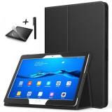 Калъф за таблет Ka Digital Huawei MediaPad M3 Lite 10 инча, протектор, писалка
