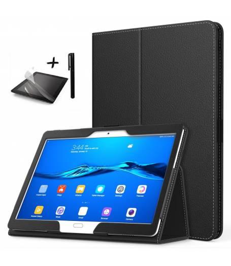 Комплект Ka Digital Калъф за таблет Huawei MediaPad M3 Lite 10 инча, протектор, писалка