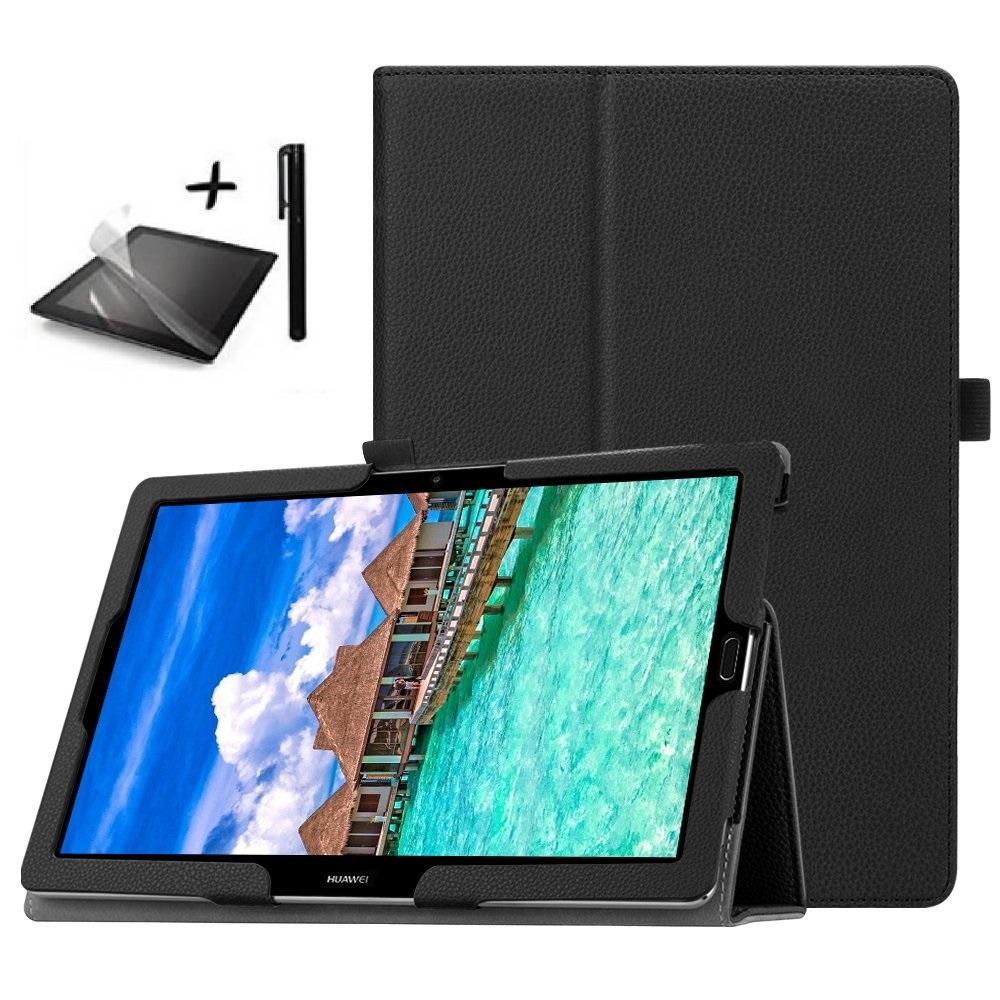 Калъф за таблет Huawei MediaPad M5 10 10.8 инча+протектор+писалка черен в tabletstorebg