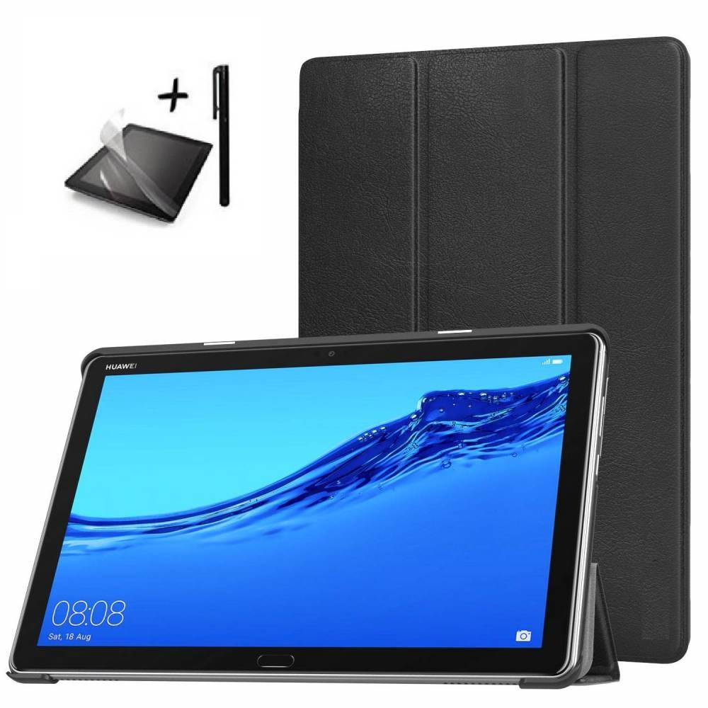 Комплект Ka Digital Калъф за таблет Huawei MediaPad M5 Lite 10 инча, протектор, писалка