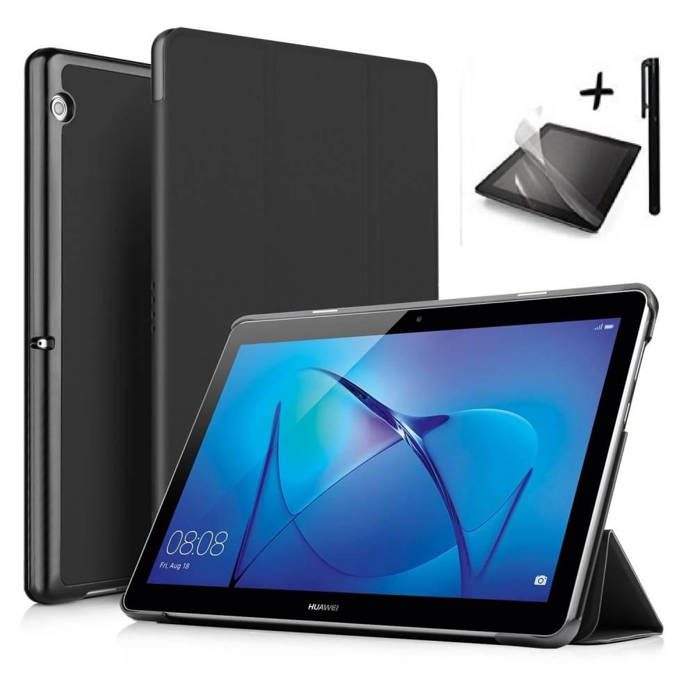 Комплект Ka Digital Калъф за таблет Huawei MediaPad T3 10 инча, протектор, писалка