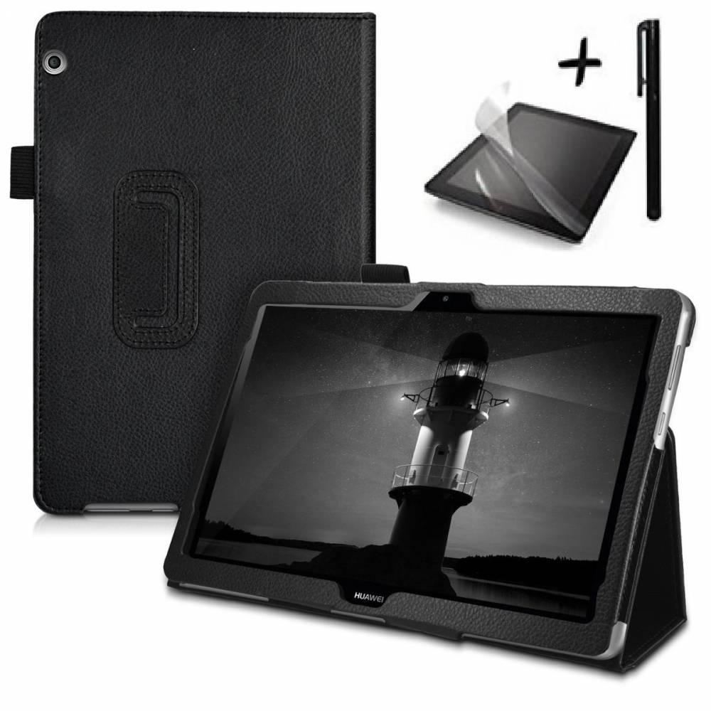 Комплект Ka Digital Калъф за таблет Huawei MediaPad T3 10 9.6 инча, протектор, писалка