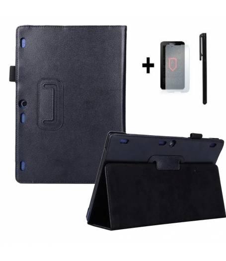 Калъф за таблет Lenovo TAB3 10 Plus, Lenovo Tab3 10 Bussines, TB3-X70F +протектор+стилус(KA-TB3-X70F-b) в tabletstorebg