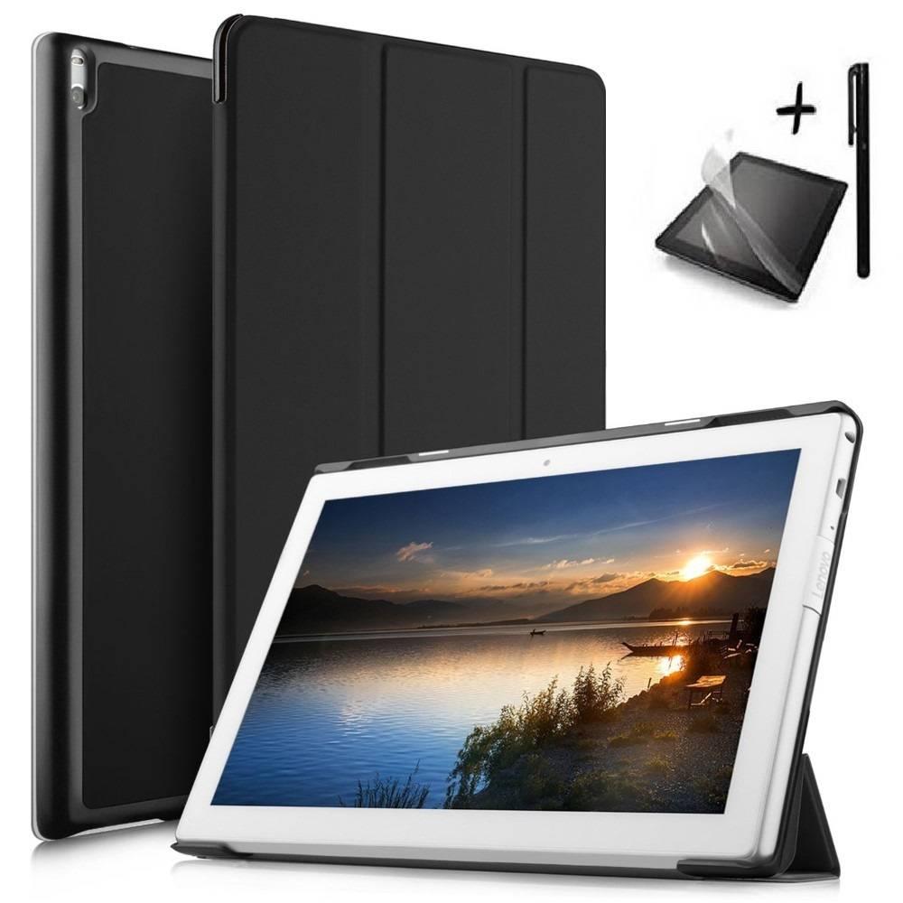 Комплект KA Digital Калъф за таблет  Lenovo Tab 4 10 Plus TB-X704,Черен, протектор, стилус в tabletstorebg