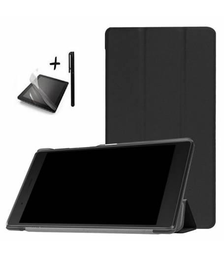 Комплект Ka Digital Kалъф за таблет Lenovo Tab7 4G TB-7504F/X 7 инча Черен, протектор, писалка