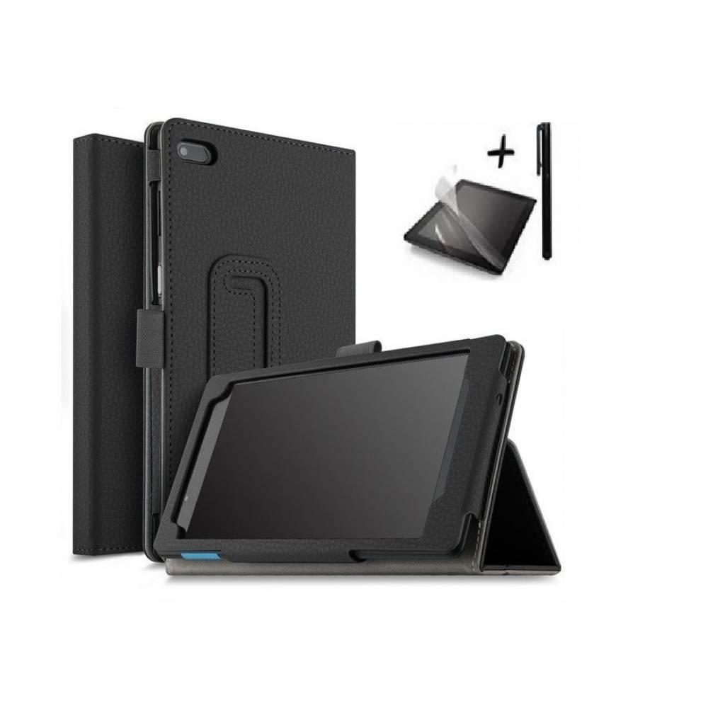 Комплект Ka Digital Kалъф за таблет Lenovo Tab 4 7 Essential (TB-7304F) 7 инча Черен, протектор, писалка в tabletstorebg