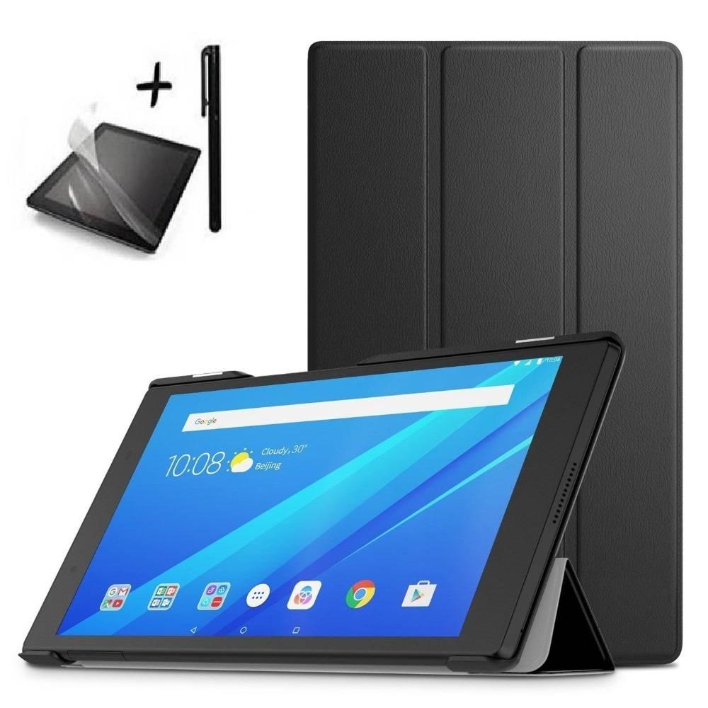 Комплект KA Digital Калъф за таблет Lenovo Tab 4 8 TB-8504,Черен, протектор, стилус в tabletstorebg