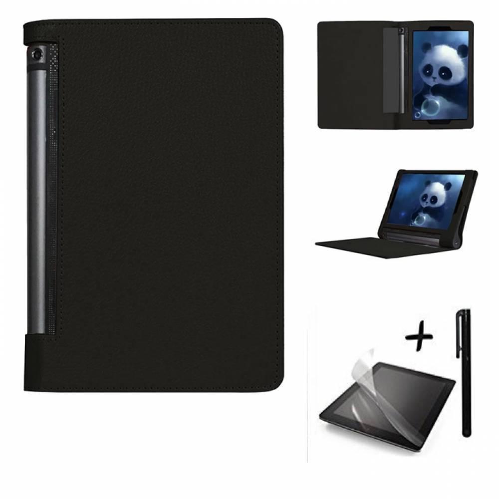 "Kалъф за таблет Lenovo Yoga Tab 3 10.1"" инча Черен +писалка тип ПАПКА"