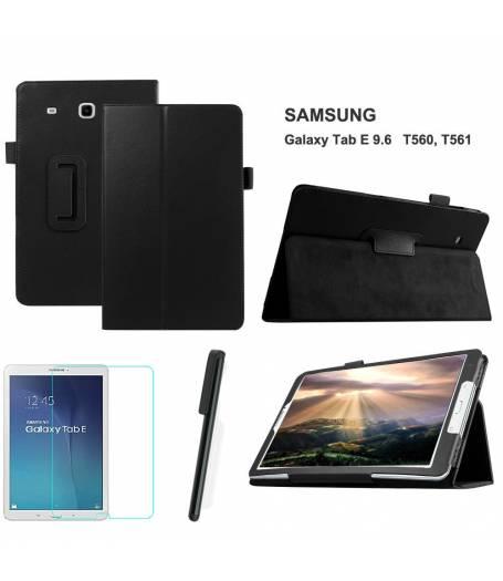 Калъф Samsung Galaxy TAB E 9.6инча T560 | T561 +протектор+стилус(KA-Т561-b) в tabletstorebg
