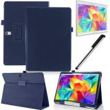 "Кожен Калъф за таблет Samsung Galaxy Tab S 10.5"" SM-T800 | SM-T805 +протектор+стилус"
