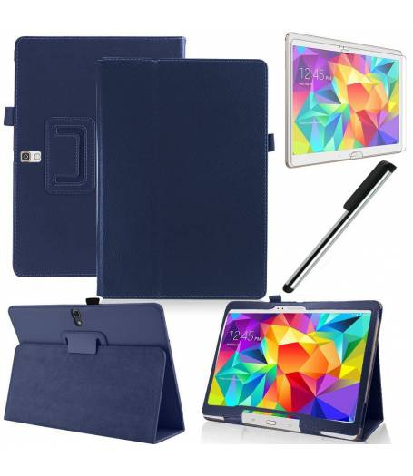 "Кожен Калъф Samsung Galaxy Tab S 10.5"" SM-T800 | SM-T805 +протектор+стилус(KA-Т800-w) в tabletstorebg"