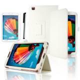 Бял Калъф за таблет Samsung Galaxy Tab 3  SM-T310 | SM-T311 | SM-315 +протектор+стилус