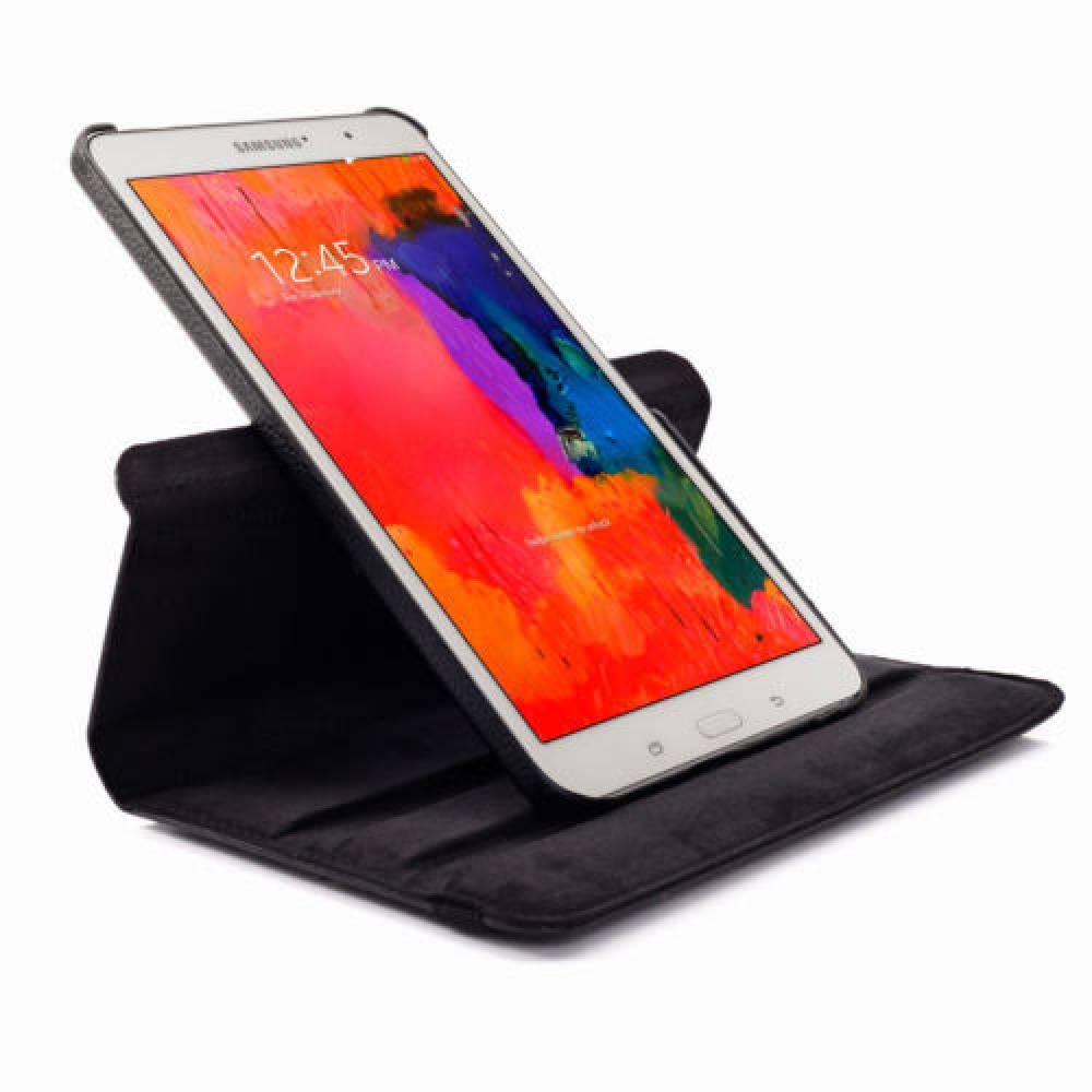 калъф за таблет Samsung Galaxy TAB 8.4 инча SM-T320 въртящ на 360 градуса-черен(KK-SM-T320-Bl) в tabletstorebg