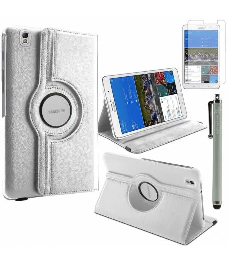 калъф за таблет Samsung Galaxy TAB 8.4 инча SM-T320 въртящ на 360 градуса-бял(KK-SM-T320-wh) в tabletstorebg