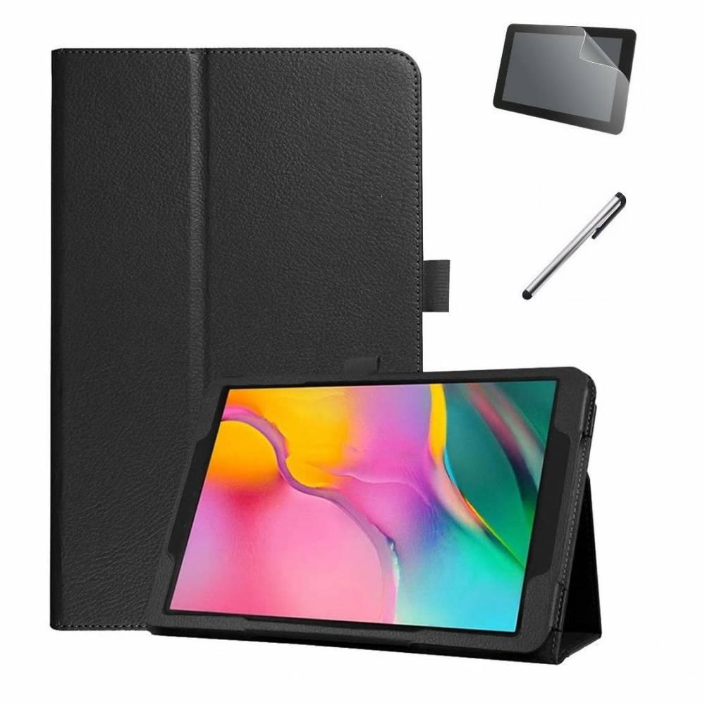 Черен Калъф за таблет KA Digital Samsung Tab S5e 10.5 инча 2019 Т720, T725 Папка, Черен, Протектор, Писалка в tabletstorebg