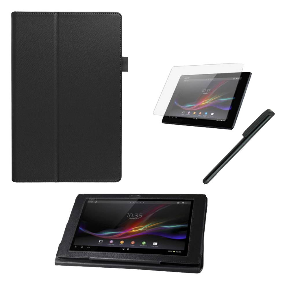 Калъф за Sony Xperia Z4 таблет тип папка Черен 10.1 инча(KK-SEZ4b) в tabletstorebg