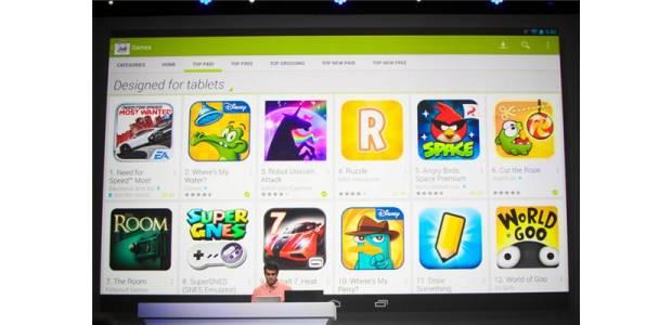 Малък ъпдейт в Google Play ще улесни потребителите в търсене на  приложения  оптимизирани специално за таблети