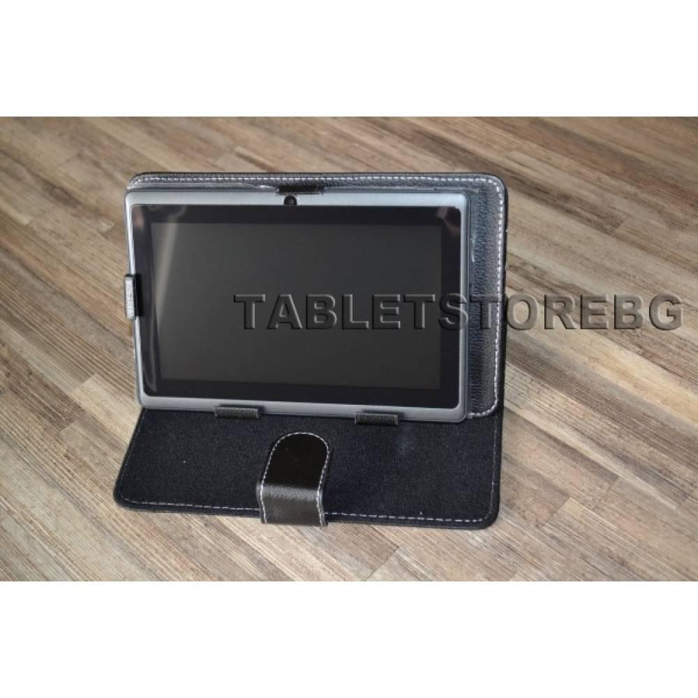 Черен  двуядрен таблет 7 инча 1.3GHZ WIFI BG Android 4.2.2+Калъф(ATMB+kalaf) в tabletstorebg