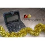Коледна промоция на Черен 7 инчов A20 Двуядрен таблет HDMI BG + клавиатура
