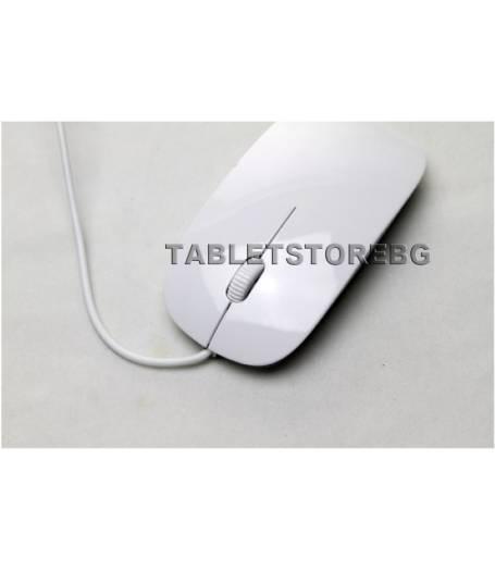 Оптична мишка бяла(OP2) в tabletstorebg
