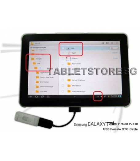 OTG кабел за таблет Samsung(OTG-S) в tabletstorebg