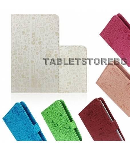Детски калъф с вградена клавиатура за 7 инча таблет-7 цвята(KB7multi) в tabletstorebg