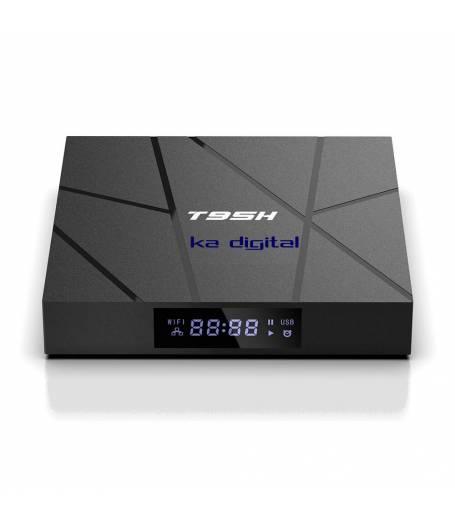 Мултимедия плеър KA Digital® T95H Allwinner H616 quad core Smart TV Box, Android 10, 4GB Ram, 32GB памет, 2.4G  WIFI