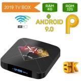 Мултимедия плеър KA Digital® X10 Plus 6K ALLWINNER H6 Smart TV Box Android 9 4GB Ram, 32GB памет 2.4G WIFI USB 3.0