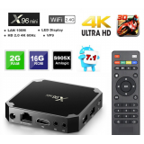 Мултимедия плеър KA Digital® X96 Mini Amlogic S905W Quad Core Smart TV Box Android 7.1 4K UltraHD 2GB 16GB 2.4GHz HDR WIFI