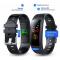 Фитнес гривна Ka Digital I6 HRC, Heart Rate monitor,Цветен дисплей, Multi-sport, Фитнес монитор, Крачки, Калории, Зелена