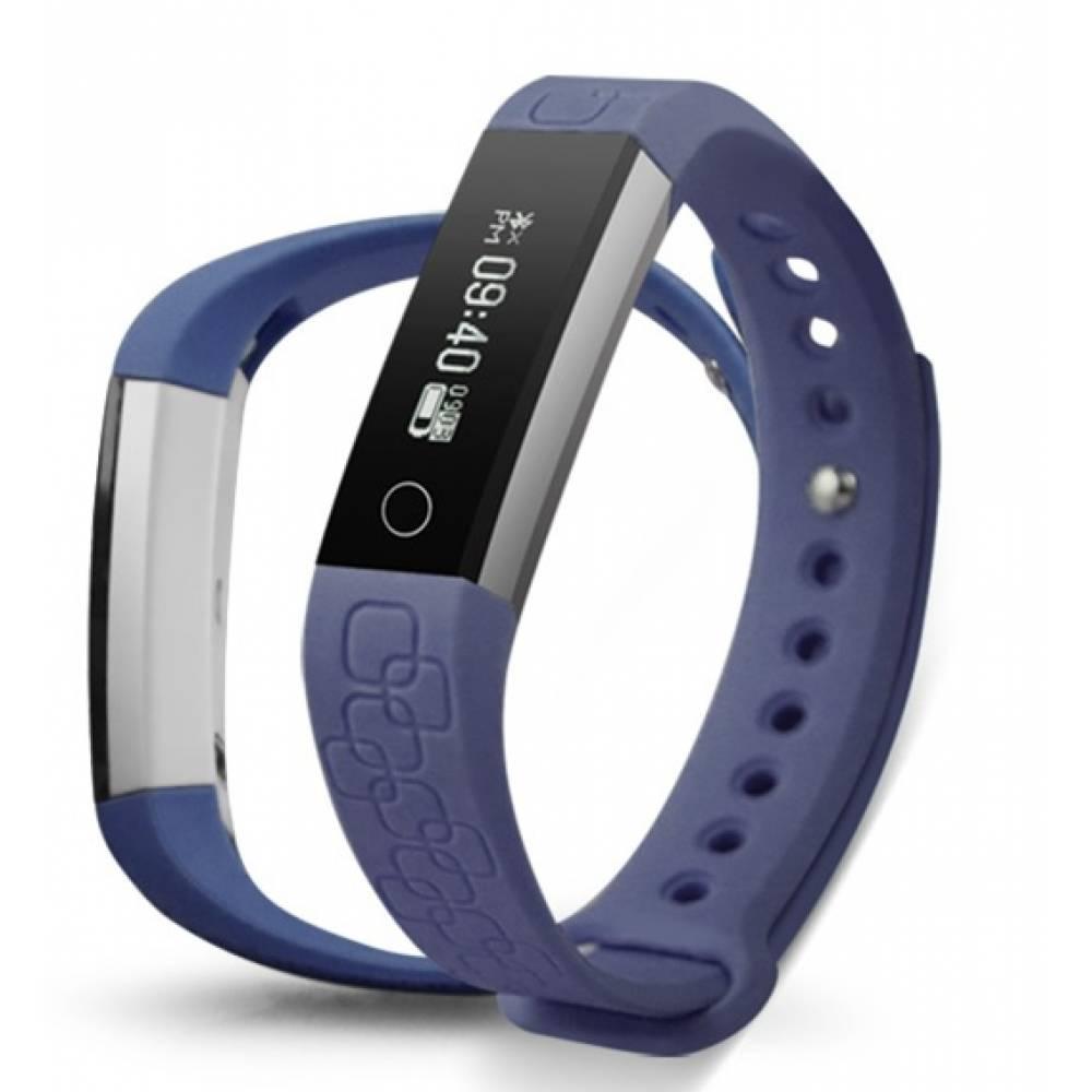 Фитнес гривна Smart Bracelet M1, Heart Rate monitor, Лилава