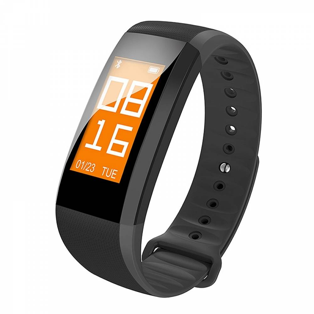 Фитнес гривна Smart Bracelet M99 BP/HR, Кръвно налягане, Пулс,Цветен OLED дисплей, Крачки, Калории, Часовник, IP68, Черна