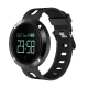 Фитнес гривна Smart Bracelet DM58 BP/HR, Кръвно налягане, Пулс, OLED, Крачки, Калории, Часовник, IP68, Черна